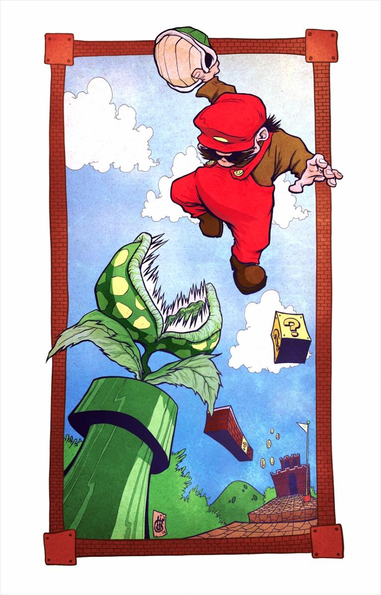 Mario 11x17 3 original iprea