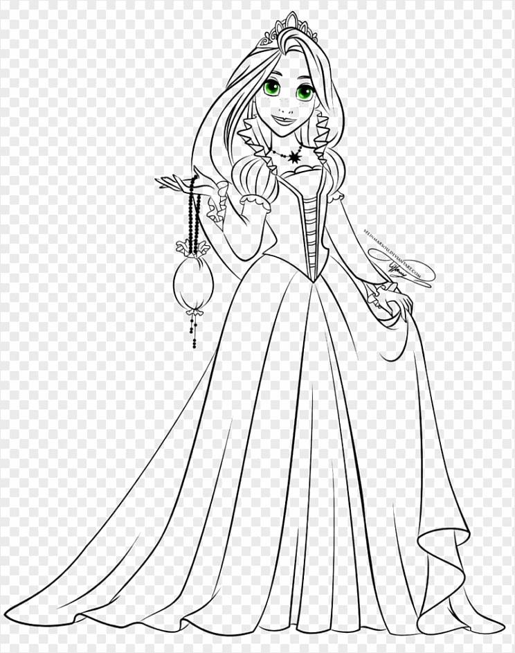 rapunzel belle drawing disney princess disney princess petpe
