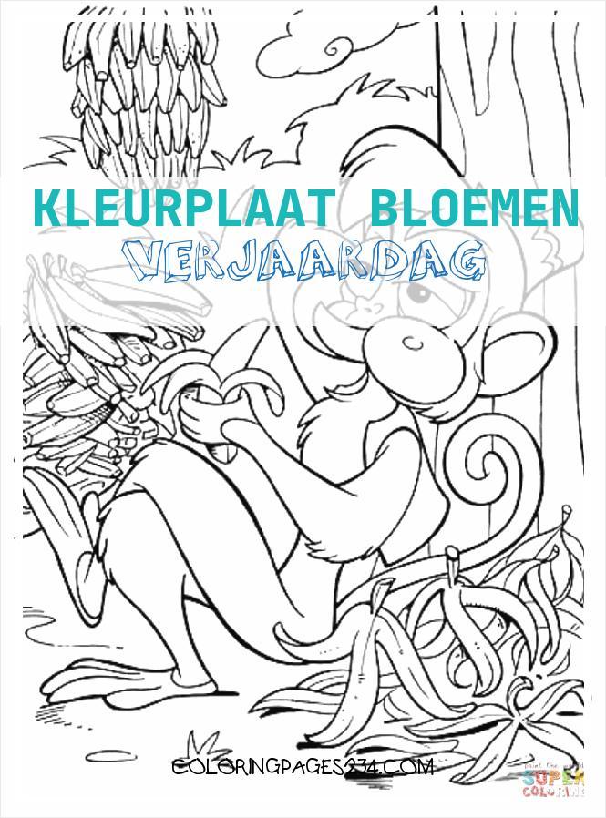 Kleurplaten Pagina 16 van 23 Kleurplaatje kleurplaat bloemen verjaardag, source:kleurplaatje.nl