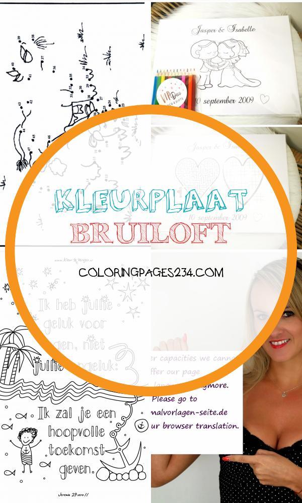 Kleur & spelletjes blad kleurplaat bruiloft, source:vipdeco.nl