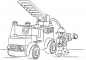 46+ Free Fire Truck Coloring Pages Printable