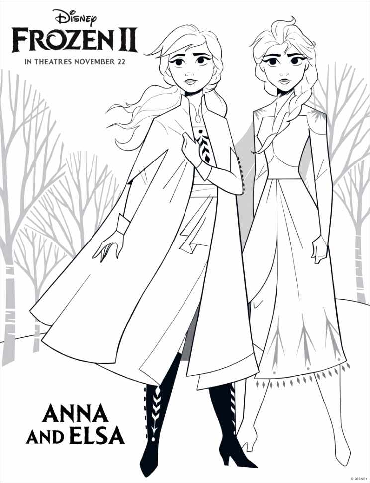 printable elsa anna frozen 2 coloring pages toaei
