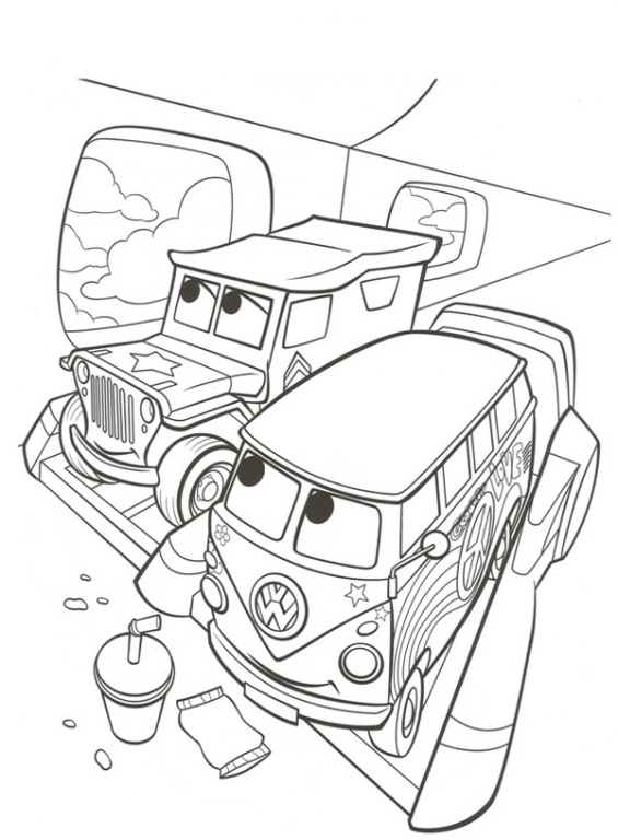 Kids-n-fun.com | 38 coloring pages of Cars 2