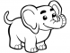 8 Elephant Coloring Pages