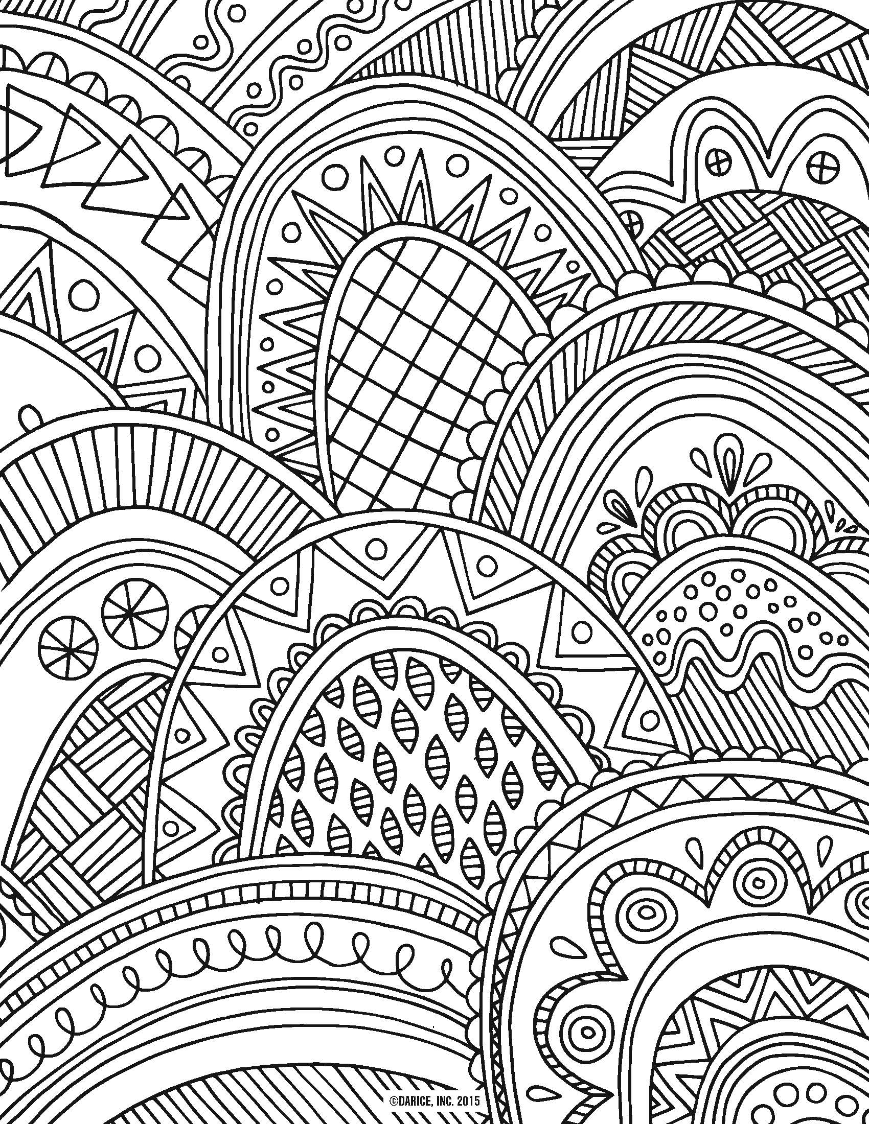 20 Attractive Coloring Pages For Adults - We Need Fun