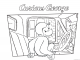 8 Curious George Coloring Pages
