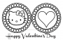 28+ Hello Kitty Valentines Day Coloring Pages