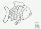 6+ Rainbow Fish Coloring Page